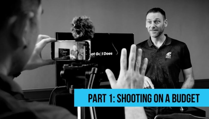 Streaming Your Message | Part 1: Shooting on a Budget